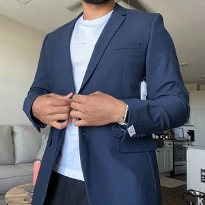 Slim Fit Calvin Klein Blazer Sports Coat